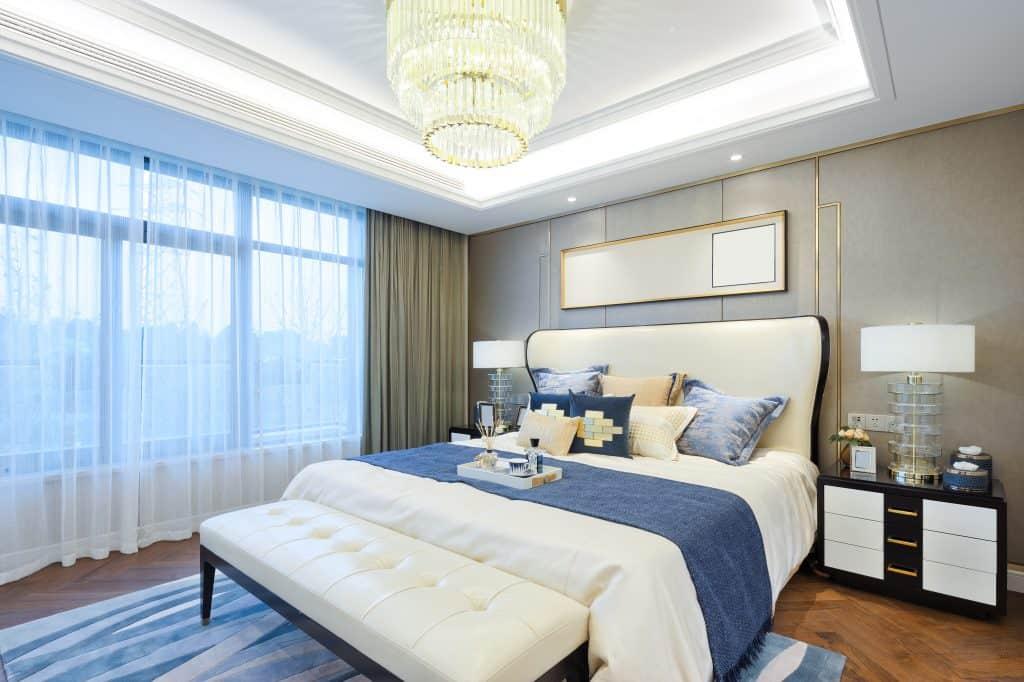 חדר שינה משופץ