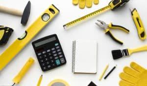 כלי מדידה לשיפוץ